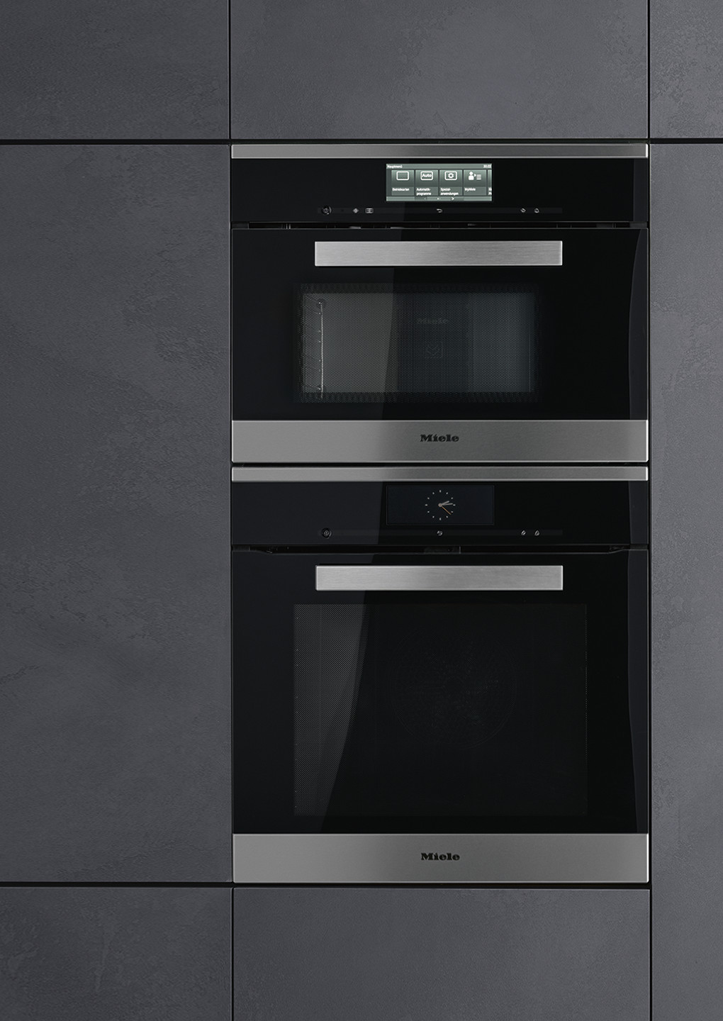 Miele Steam Ovens With Microwave
