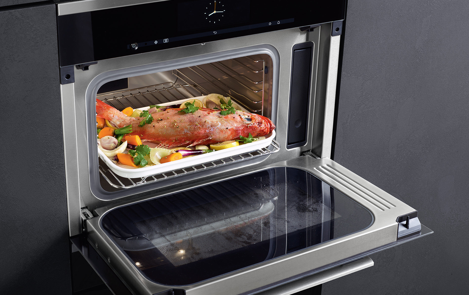 miele dgm steam oven with microwave