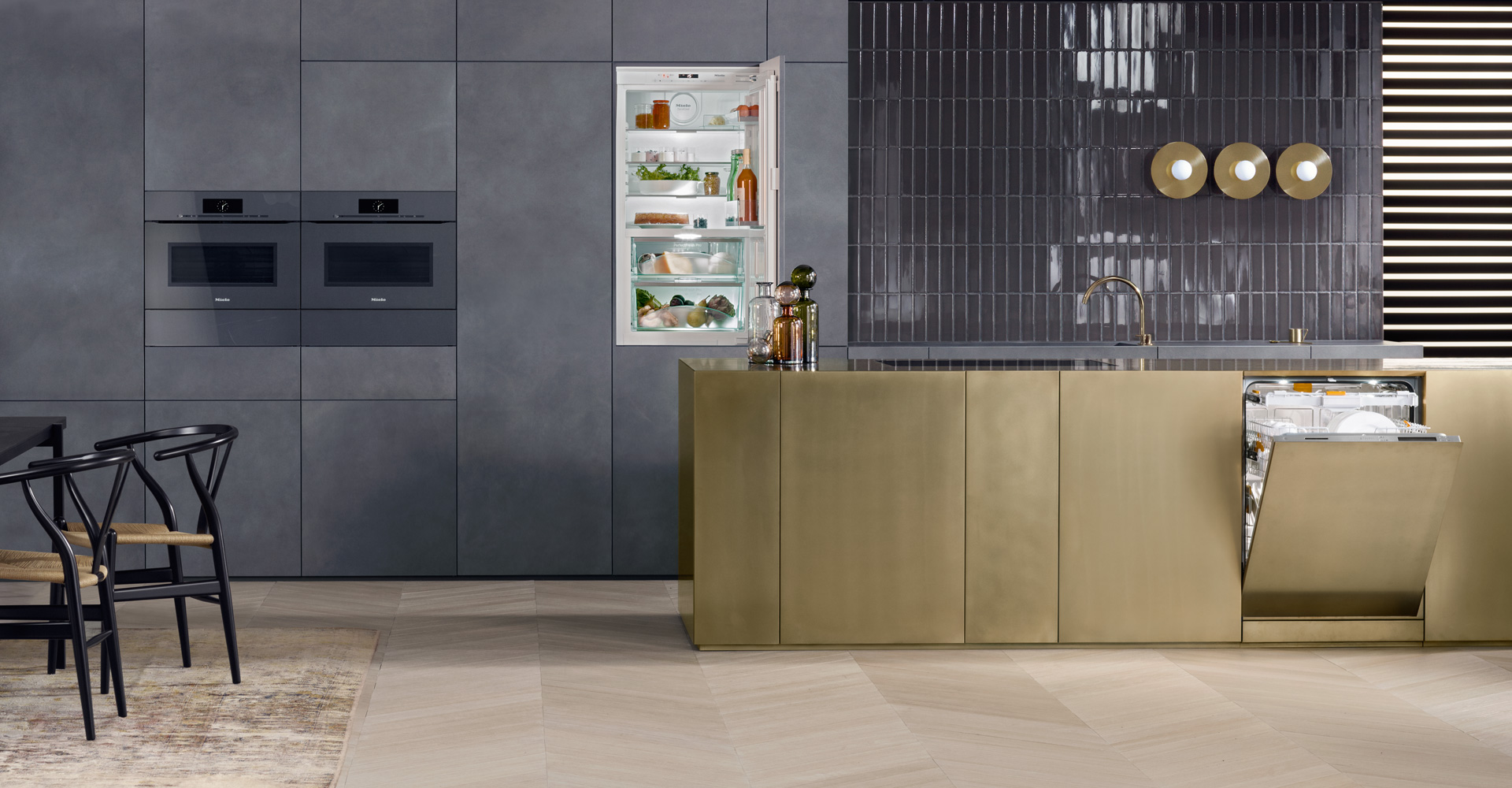 Uncategorized Intergrated Kitchen Appliances artline built in appliances with touch2open miele you can seamlessly integrate into the design of your elegant handleless kitchen perfect combination artline