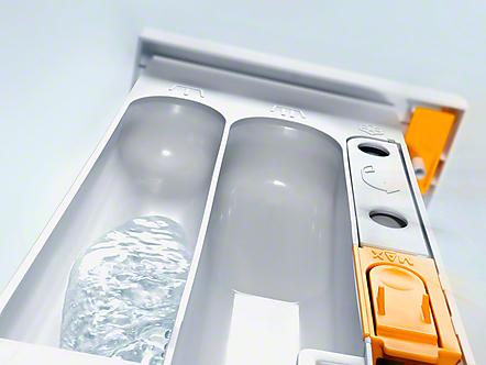 Gepatenteerde AutoClean-wasmiddellade*