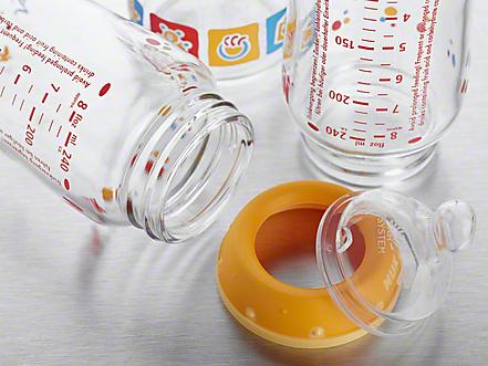 Babyflaschen desinfizieren