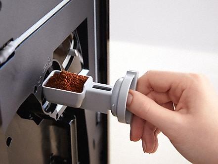 Reservoir voor gemalen koffie
