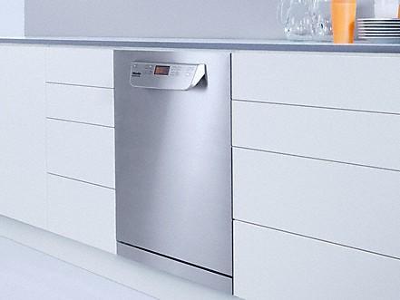 Perfekte Integration in Küchen-und Arbeitszeilen