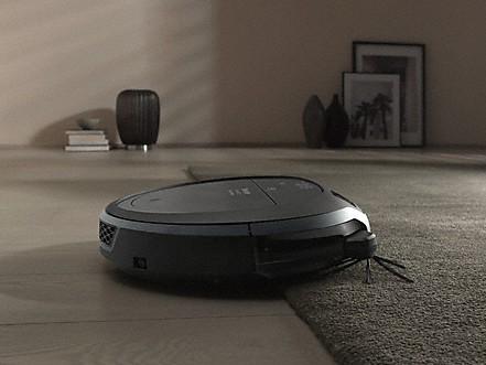 Auffahren auf Teppich