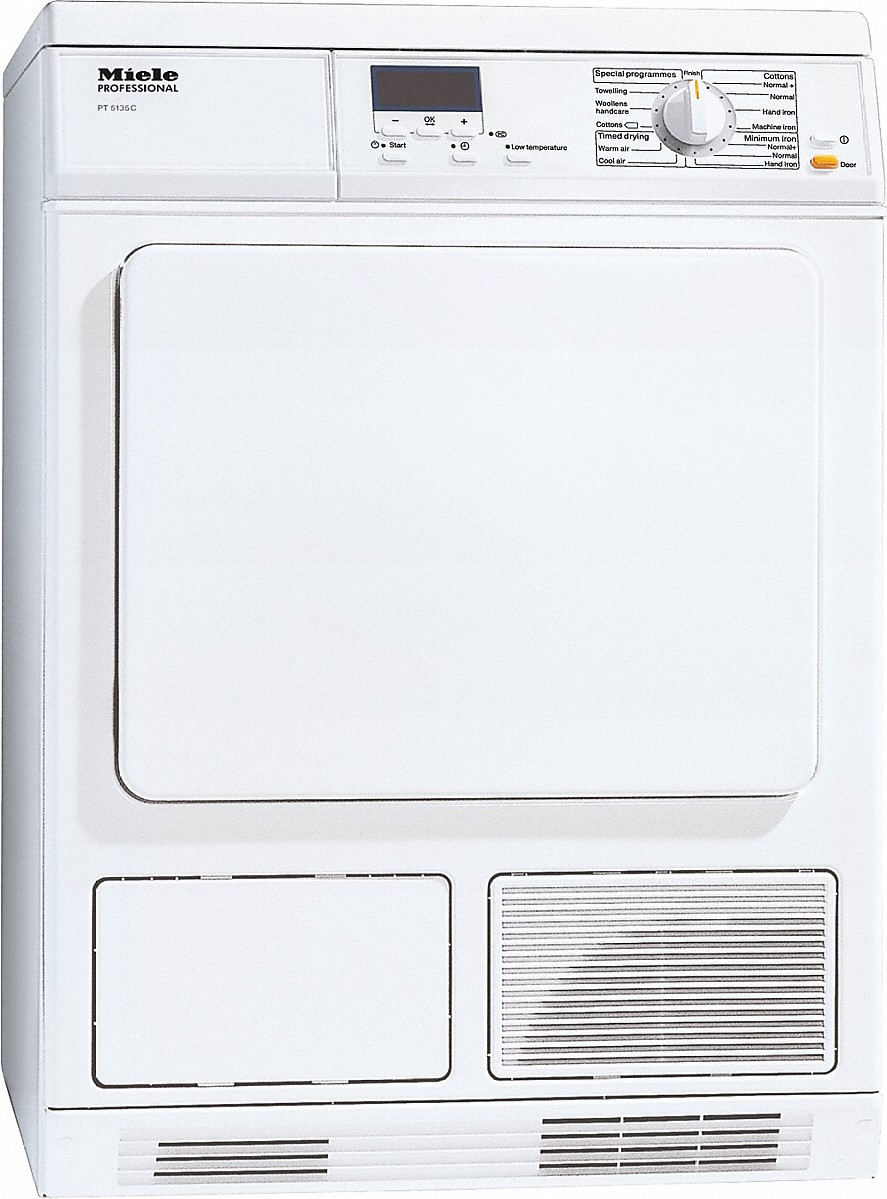 PT 5135 C [EL OS] - Condenser dryer --Lotus white