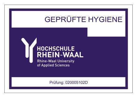 Geprüfte Hygiene
